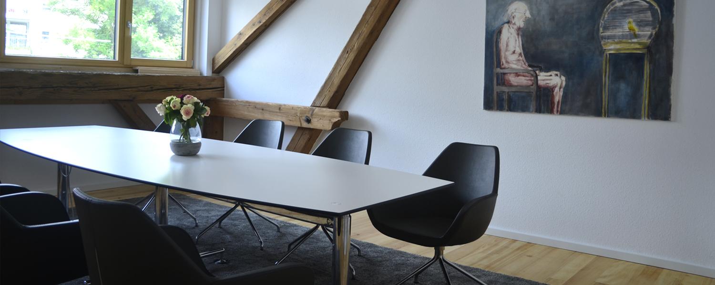 Konferenzraum für Schulung, Projektplanung, Konferenz oder Fortbildung